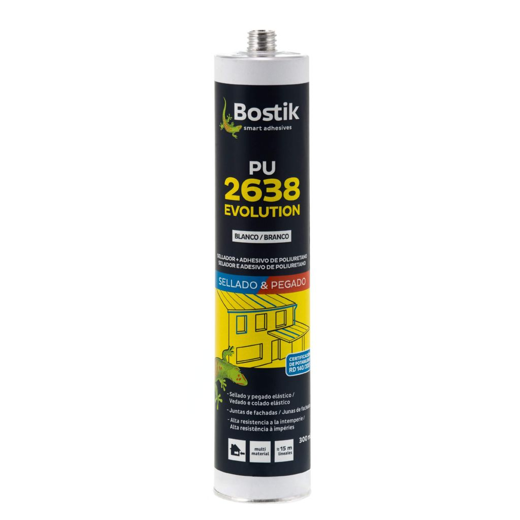 BOSTIK SELLADOR ADHESIVO DE POLIURETANO EVOLUTION MARRON CR 300ML