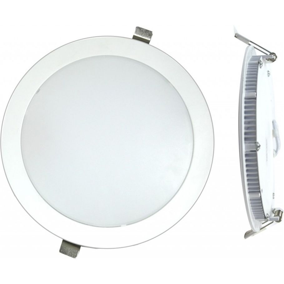 DOWNLIGHT LED EMPOTRAR PLANO BLANCO-6000K 18W