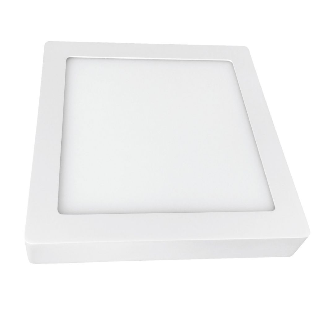 MEGA LED DOWNLIGHT LED SUPERFICIE CUADRADO BLANCO 4000K 20W 1500LM