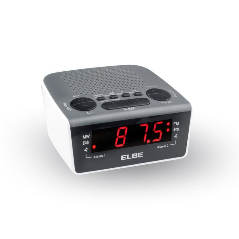 RADIO RELOJ DESPERTADOR DIGIT. ELBE NE AM/FM