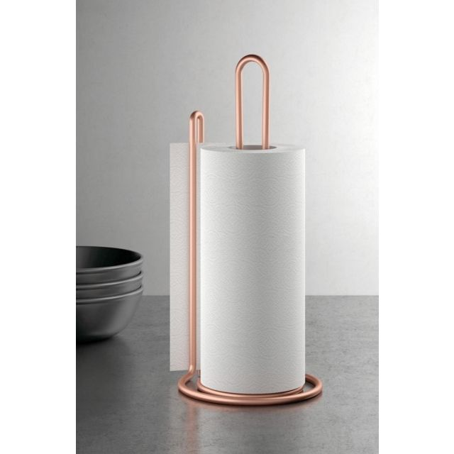 SOPORTE COC PORTARROLLOS 15X32CM IN. MY ROLL COPPER METALTEX