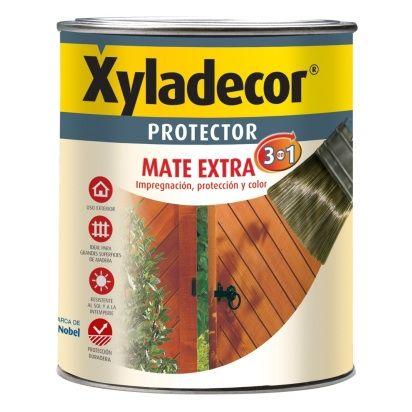 XYLADECOR PROTECTOR PARA MADERA MATE ROBLE 3 EN 1 750ML XYLADECOR